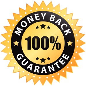 100 percent money back guarantee